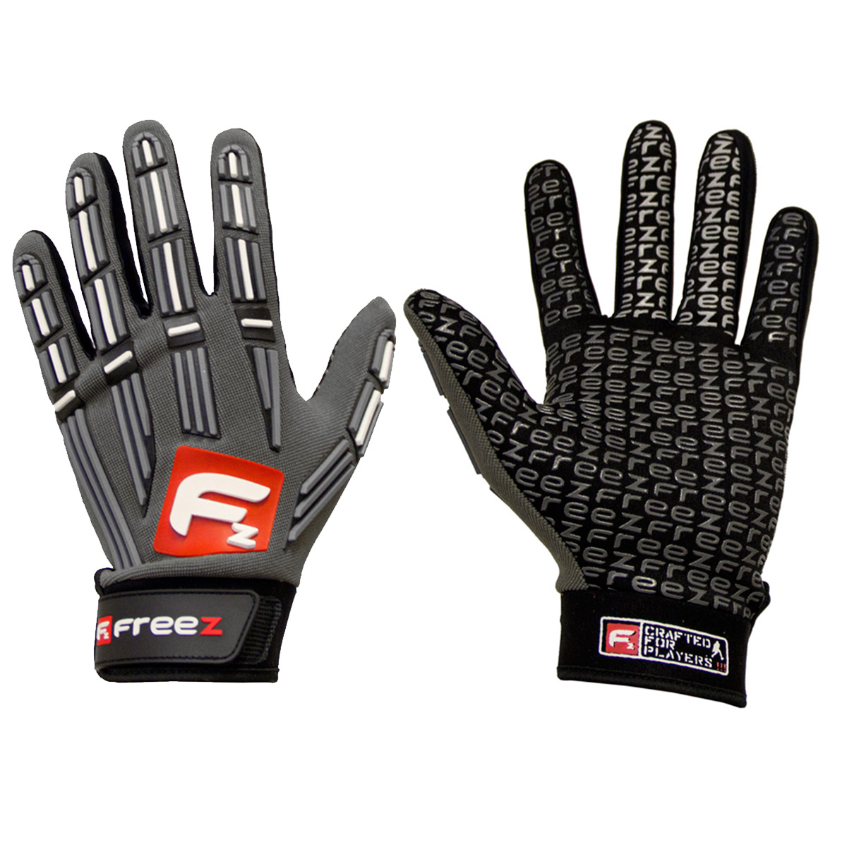 FREEZ G-80 GOALIE GLOVES grey junior, L