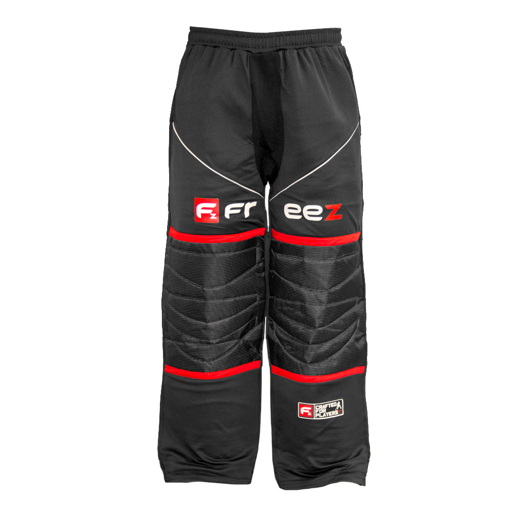 FREEZ Z-80 GOALIE PANT BLACK/RED L