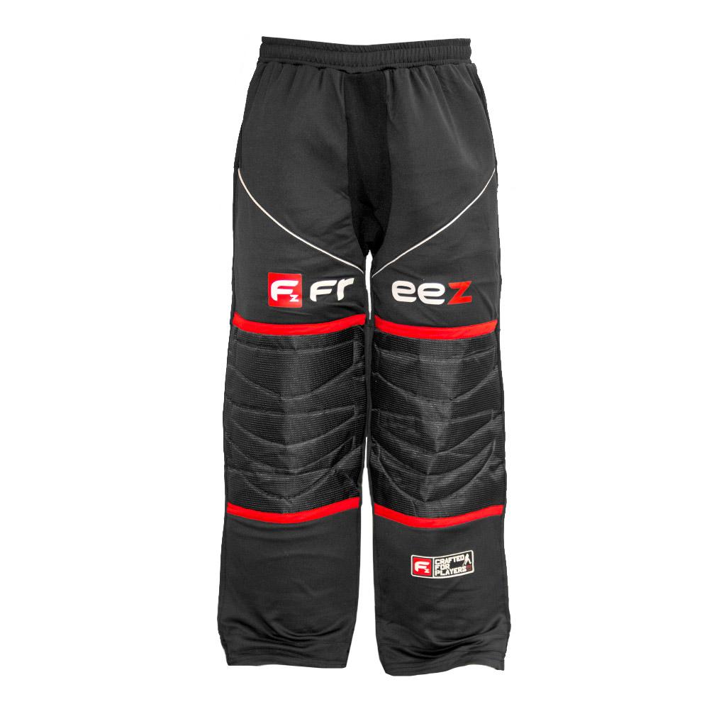 FREEZ Z-80 GOALIE PANT BLACK/RED XL