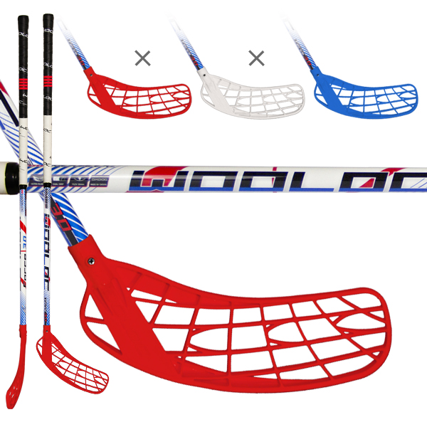 WOOLOC FORCE 3.0 blue-red-white 101 ROUND R