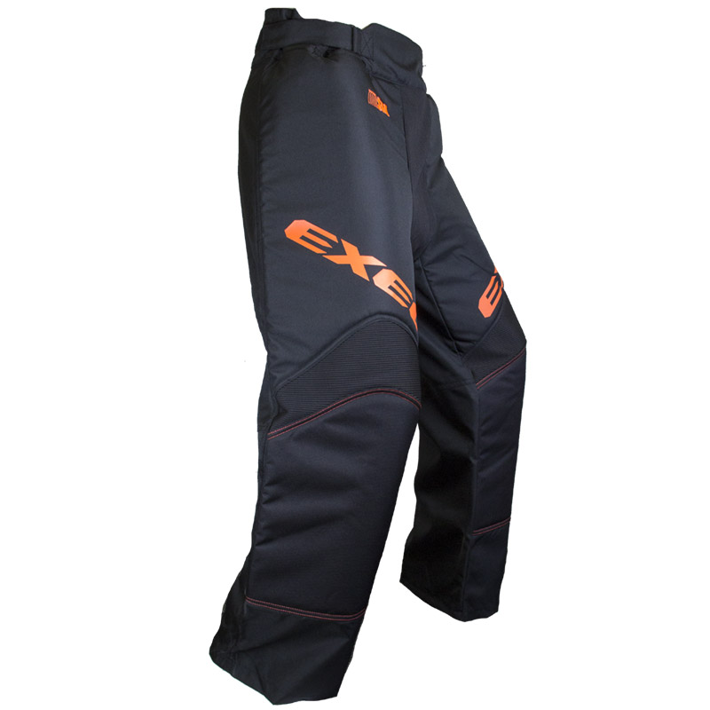 EXEL S60 GOALIE PANT black/orange 140