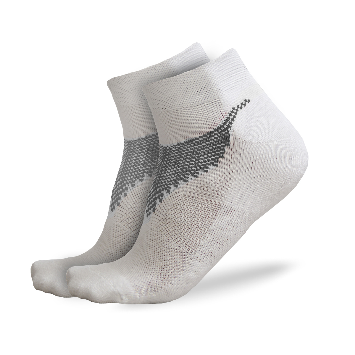 FREEZ ANCLE SOCKS 2-pack white 43-46