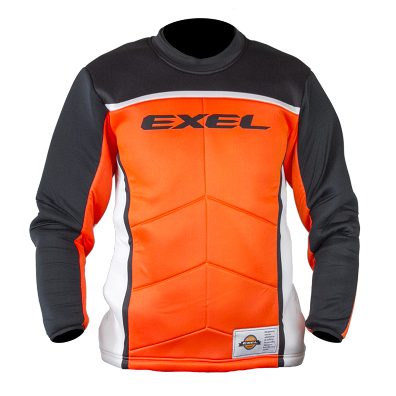 EXEL S60 GOALIE JERSEY orange/black XS